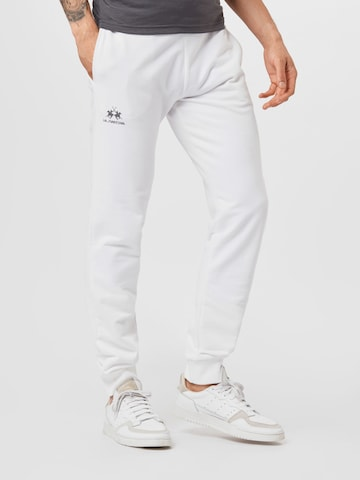 Pantalon La Martina en blanc