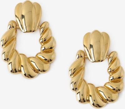 Orelia Boucles d'oreilles 'Doorknocker' en or, Vue avec produit