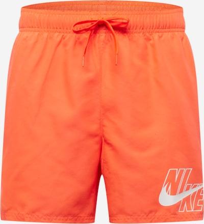 Nike Swim Sērfošanas šorti 'Lap 5', krāsa - gaiši sarkans / balts, Preces skats