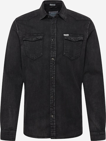 Camicia 'TRUCKEE' di GUESS in nero