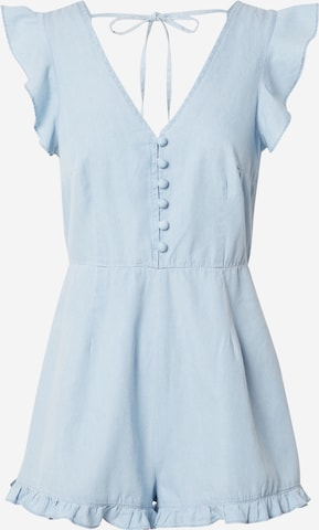 Missguided Petite - Jumpsuit en azul