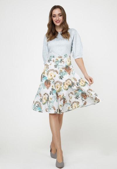 Madam-T Sommerkleid 'ERGO' in blau / weiß, Modelansicht