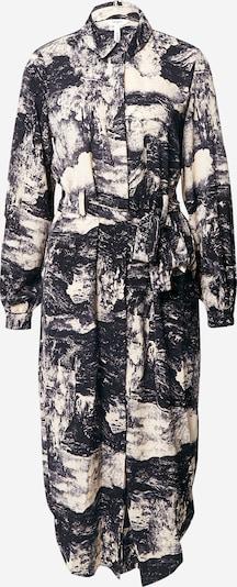 Palaidinės tipo suknelė 'Elia' iš OBJECT , spalva - smėlio / juoda / balta, Prekių apžvalga