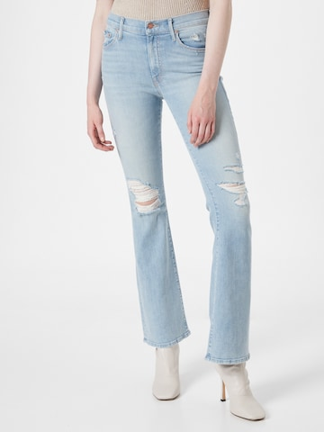 MOTHER Jeans 'THE WEEKENDER' in Blauw