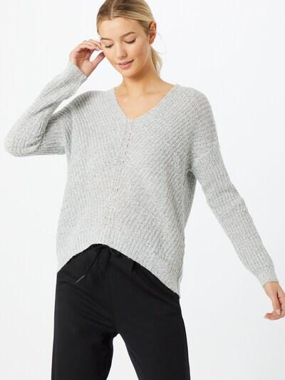 JACQUELINE de YONG Pullover 'Megan' in graumeliert, Modelansicht