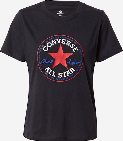 CONVERSE Shirt in Blue / Red / Black / White, Item view