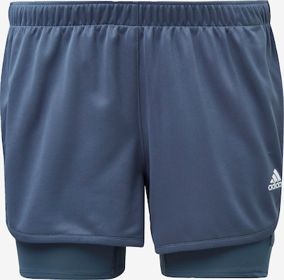 ADIDAS PERFORMANCE Shorts 'Marathon 20 Two-in-One' in dunkelblau, Produktansicht