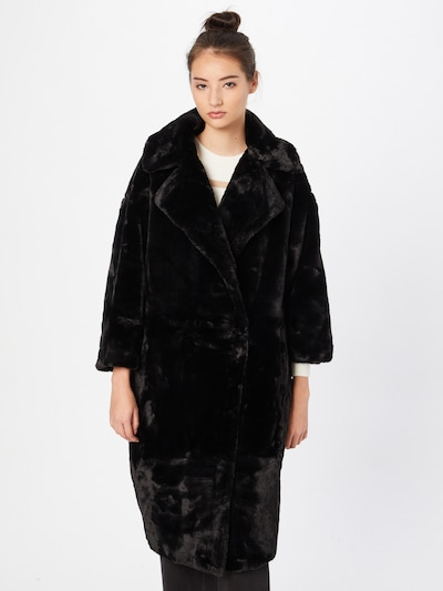 Arch The Label Manteau d'hiver 'LUNA' en noir, Vue avec modèle