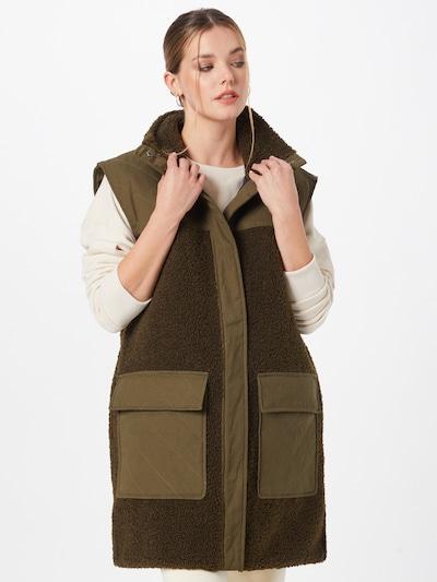 Liemenė 'Inora' iš Moves, spalva – rusvai žalia / alyvuogių spalva, Modelio vaizdas