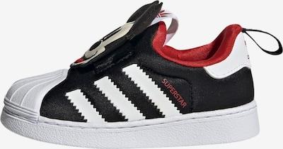 ADIDAS ORIGINALS Sneaker in rot / schwarz / weiß, Produktansicht