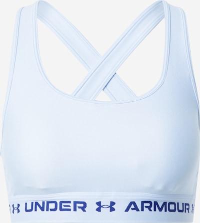 UNDER ARMOUR Sports bra in Smoke blue / Black, Item view