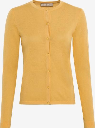 HALLHUBER Cardigan in gelb, Produktansicht