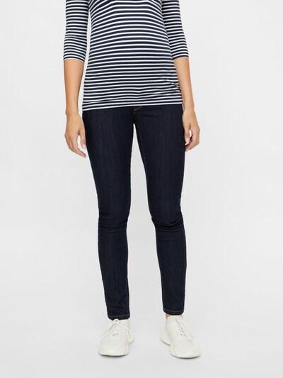 MAMALICIOUS Jeans 'JULIA' in dunkelblau, Modelansicht
