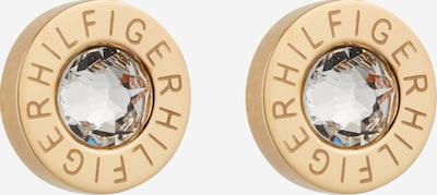 TOMMY HILFIGER Kolczyki w kolorze złoty / przezroczystym, Podgląd produktu