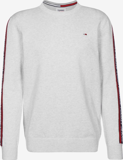 Tommy Jeans Sweater ' Sleeve Tape ' in wollweiß, Produktansicht