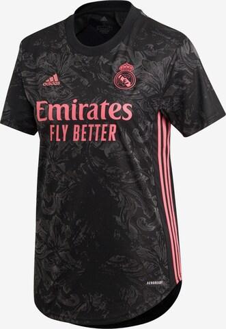 ADIDAS PERFORMANCE Trikot 'Real Madrid 20/21' in Schwarz
