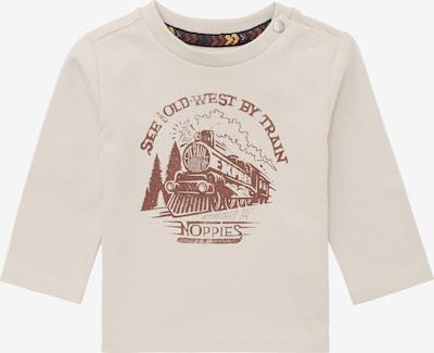 Noppies Shirt in de kleur Beige / Bruin, Productweergave