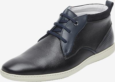 Van Lier Chaussure à lacets en bleu / noir, Vue avec produit