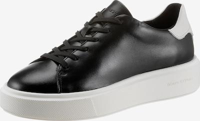 Sneaker low 'Cora' Marc O'Polo pe negru / alb, Vizualizare produs