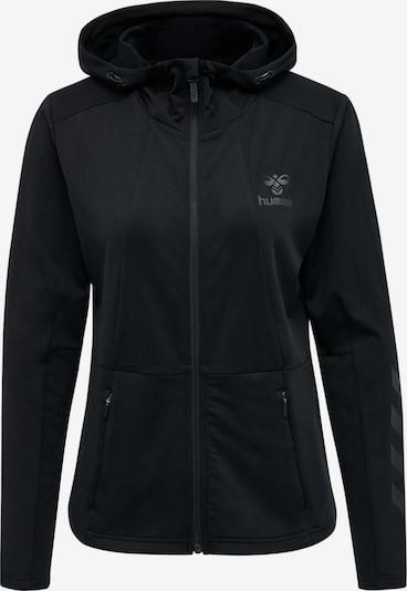 Hummel Zip hoodie in schwarz, Produktansicht