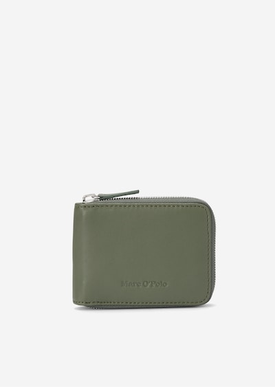 Marc O'Polo Zipper-Börse in grün, Produktansicht