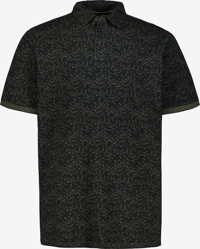 JP1880 Shirt in brokat / khaki: Frontalansicht