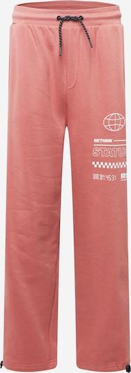 Kelnės iš Rethink Status, spalva – ryškiai rožinė spalva / balta, Prekių apžvalga