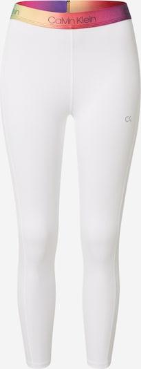 Calvin Klein Performance Sporthose in mischfarben / weiß, Produktansicht