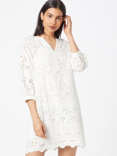 Maison 123 Рокля тип риза в естествено бяло: Изглед отпред
