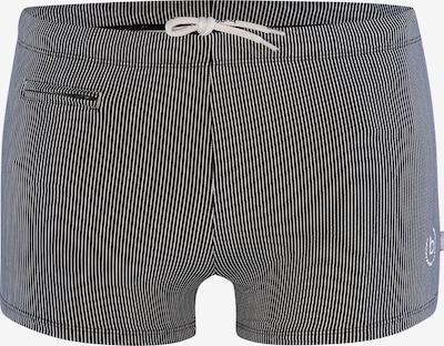 bugatti Enge Badehose ' Marc ' in schwarz / weiß, Produktansicht