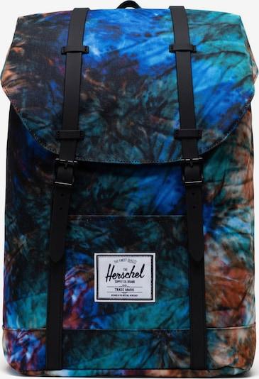 Rucsac 'Retreat' Herschel pe albastru / verde / mai multe culori, Vizualizare produs
