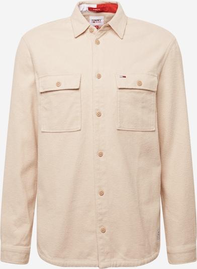 Tommy Jeans Jacke in creme / dunkelblau / rot / weiß, Produktansicht