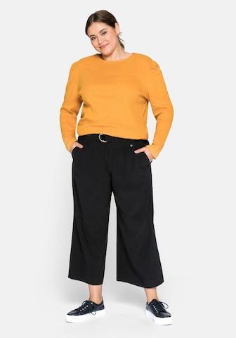 SHEEGO Παντελόνι σε μαύρο