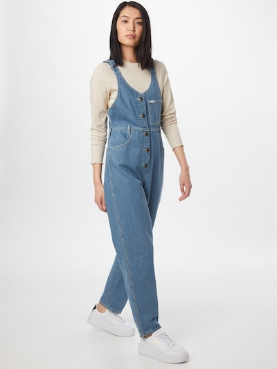 Lee Jeans 'MOM BIB' in blau, Modelansicht