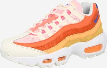 Baskets basses 'Air Max 95' Nike Sportswear en orange