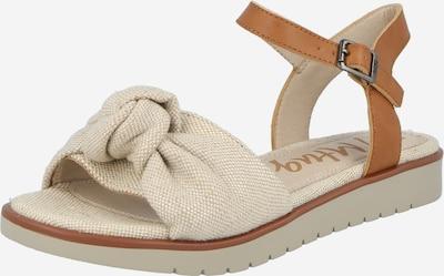 MTNG Sandales 'MARIE' en sable / marron, Vue avec produit