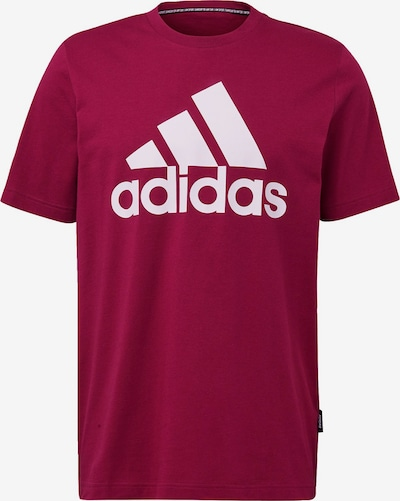 ADIDAS PERFORMANCE Shirt 'Must Haves Badge of Sport' in beere, Produktansicht