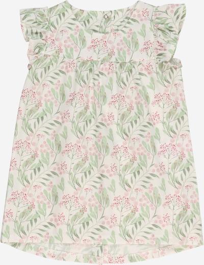 KANZ Robe en vert clair / rose / blanc, Vue avec produit