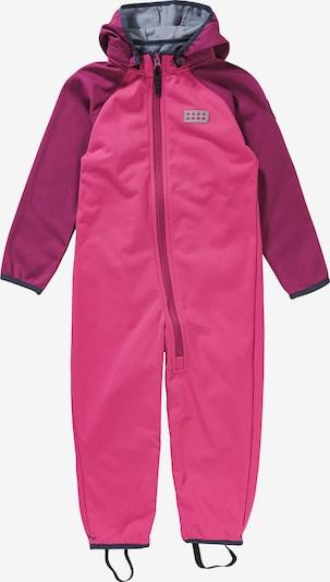 LEGO WEAR Funktionsanzug in lila / pink / silber, Produktansicht