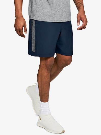 UNDER ARMOUR Sportovní kalhoty - námořnická modř / antracitová / čedičová šedá, Model/ka