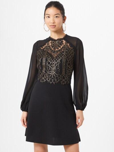 Lipsy Kleid 'Aline' in gold / schwarz, Modelansicht