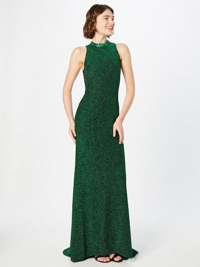mascara Evening Dress in Green, View model