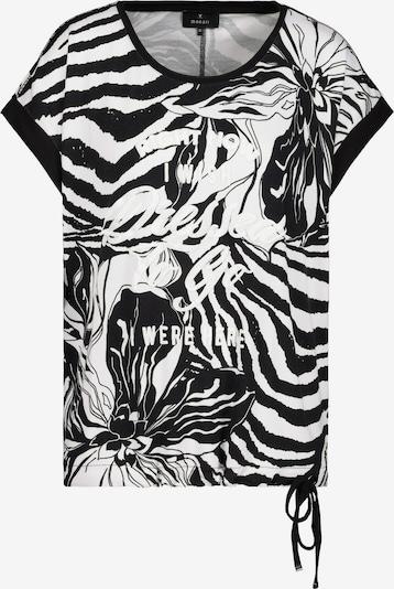 monari T-Krekls, krāsa - melns / balts, Preces skats