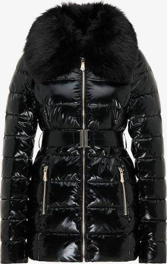 faina Winterjas in de kleur Zwart, Productweergave