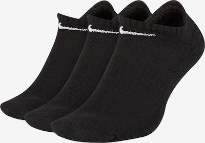 Nike Sportswear Chaussettes de sport en noir / blanc, Vue avec produit