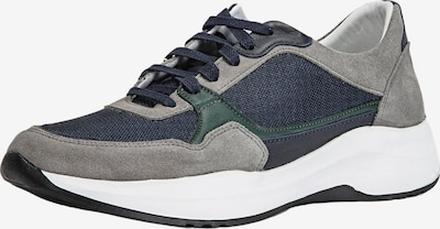 INUOVO Sneaker in dunkelblau / grau / dunkelgrün, Produktansicht