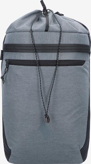 NitroBags Rucksack in grau: Frontalansicht
