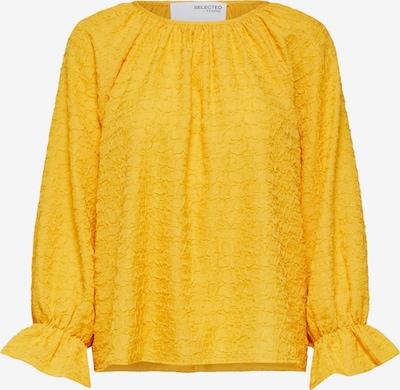 Selected Femme Curve Chemisier 'Issy' en jaune, Vue avec produit