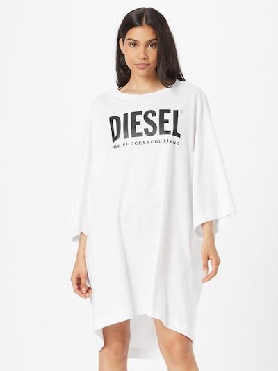 DIESEL Kleid in schwarz / weiß, Modelansicht