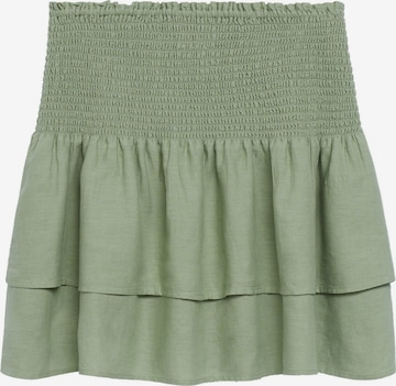 MANGO Kjol 'CHIMA' i grön